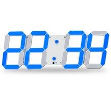 Remote Control Large LED Digital Wall Clock Modern Design Home Decor 3D Decoration Big Decorative Watch
