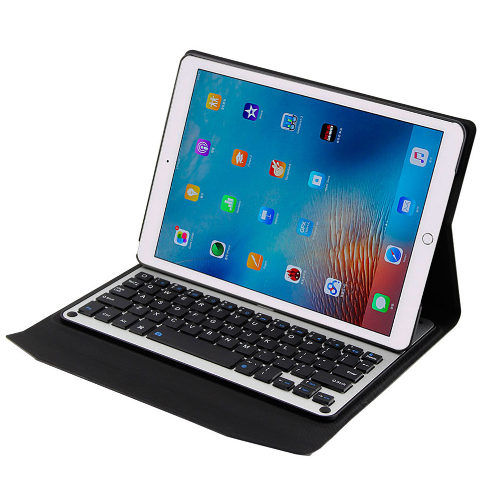 Thin Folio Cover With Removable Aluminum Bluetooth Keyboard For 10.5 iPad Pro tablet protective case with wireless keyboard A30 detachable official removable original metal keyboard station stand case cover