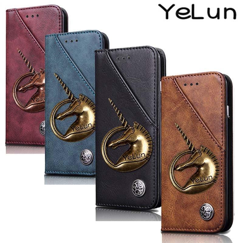 2ff02aa7816c For OPPO Reno Realme3 A1K CPH1923 Case Luxury Leather Retro Stand ...