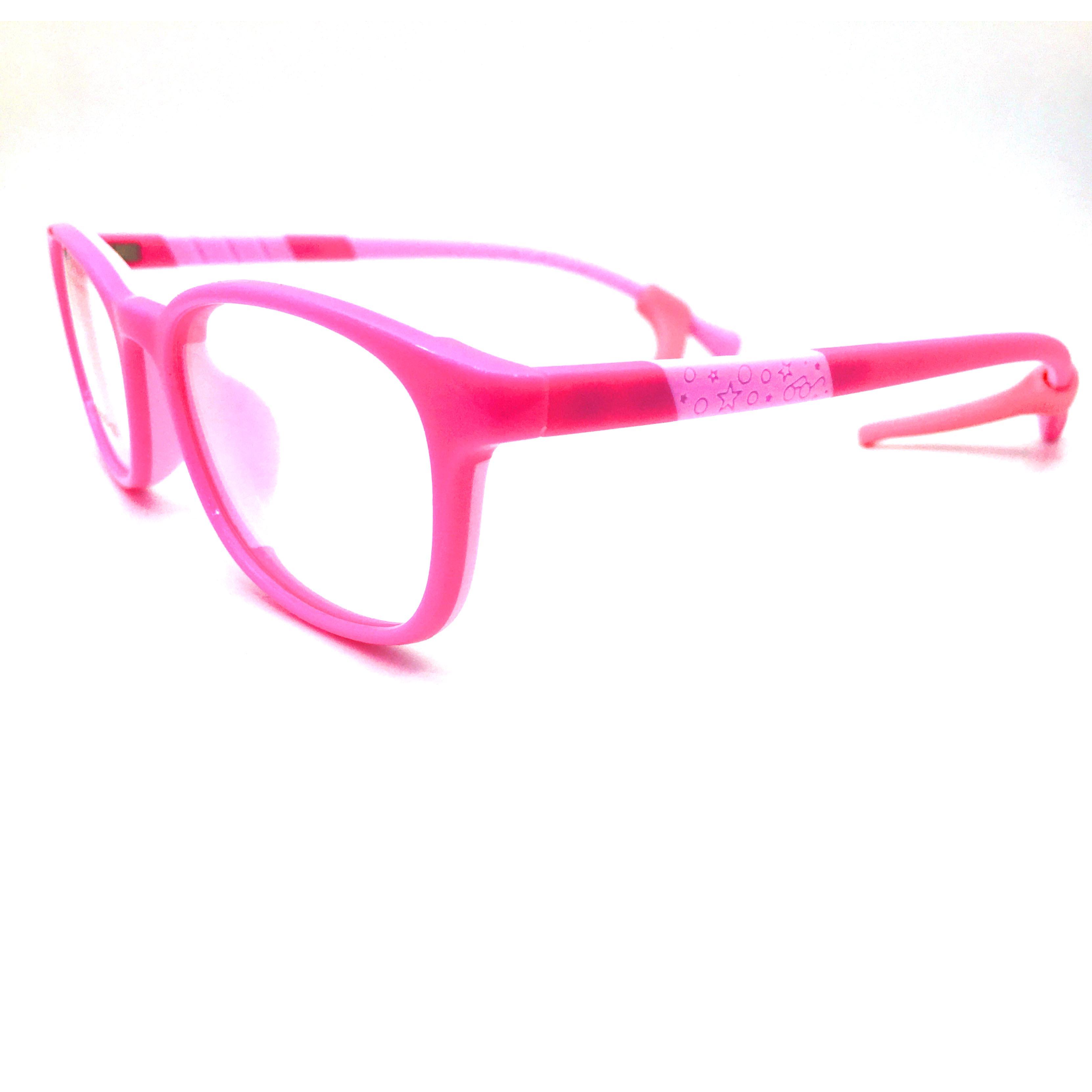 8214 Ann Defee óptico TR + gel de sílice + auricular niños gafas marco para niños gafas de prescripción llanta completa 1 par de tapones de túnel de oreja de doble llamarada expansor de calibre de acero inoxidable estilo del ventilador del molino de viento Piercing de oreja Unisex