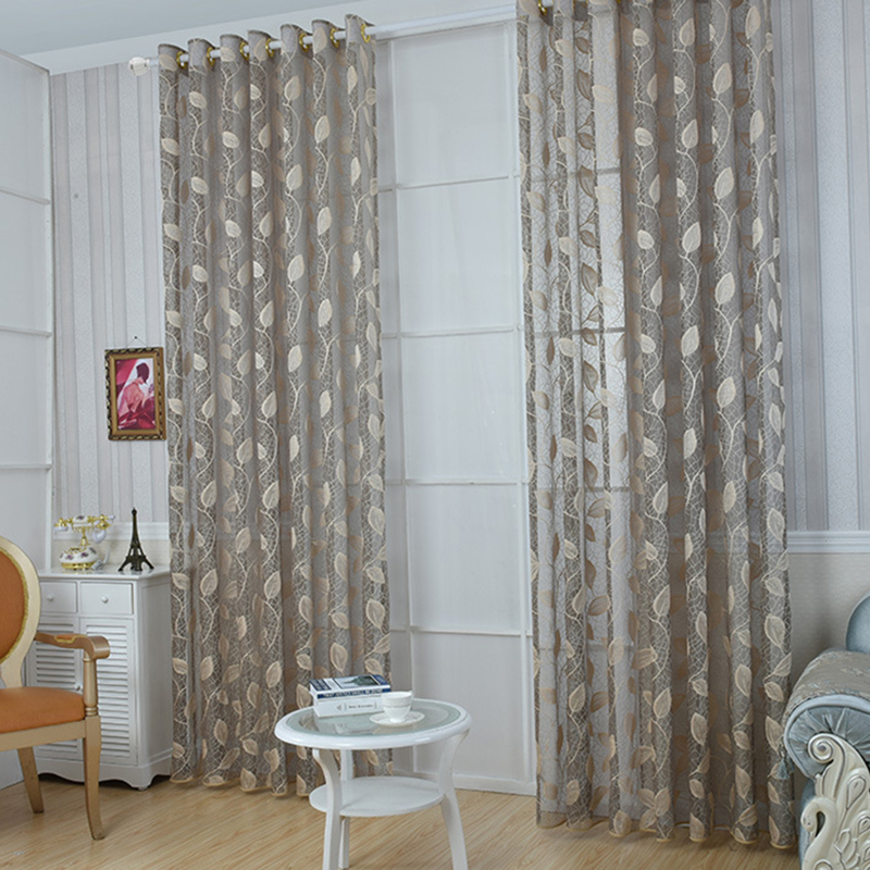 ⊱It Tends To Stay Beautiful ᐂ Curtain Curtain Rustic Leaf