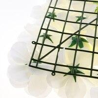 10 шт. Искусственные цветы поддельные дешевый цветок, Роза настенные панели Свадьба домашний висящий Декор Блестящий Фон для фотосессии укр