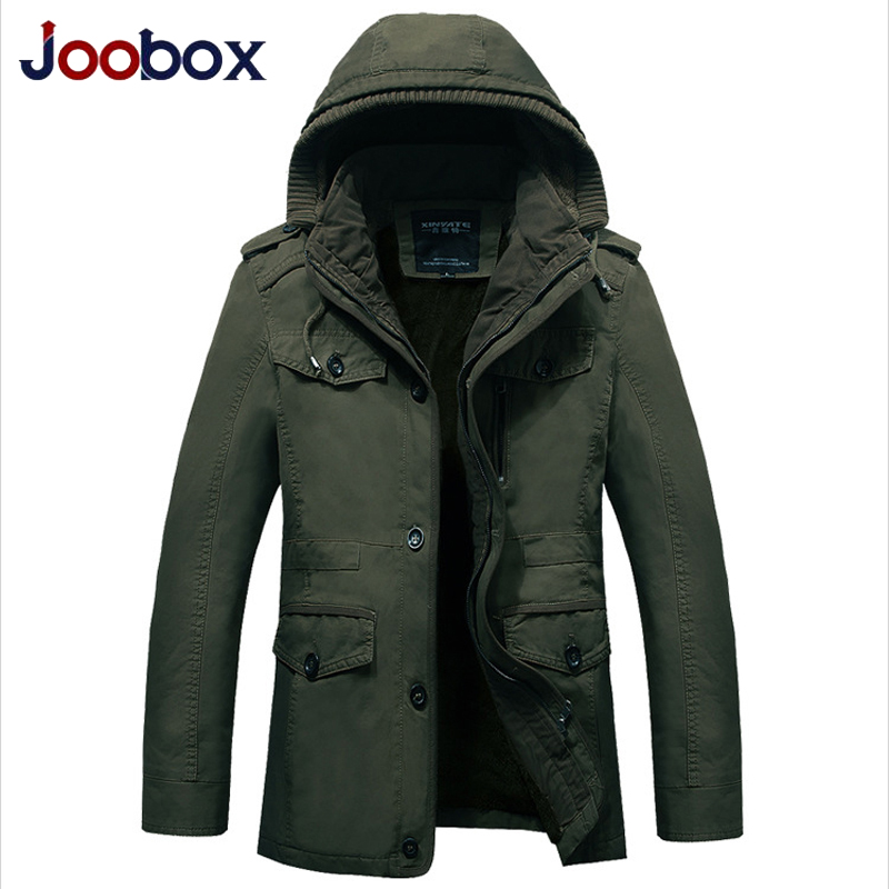 2018 Luxury Brand Military Jacket Men Winter Mens Cotton Jackets and Coats Winter Men Hooded Mens Jackets Plus Size 4xl 5xl 6XL