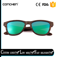 uv400 protection gradient brown polarized lens zebra wood frames square wood sunglasses on travel