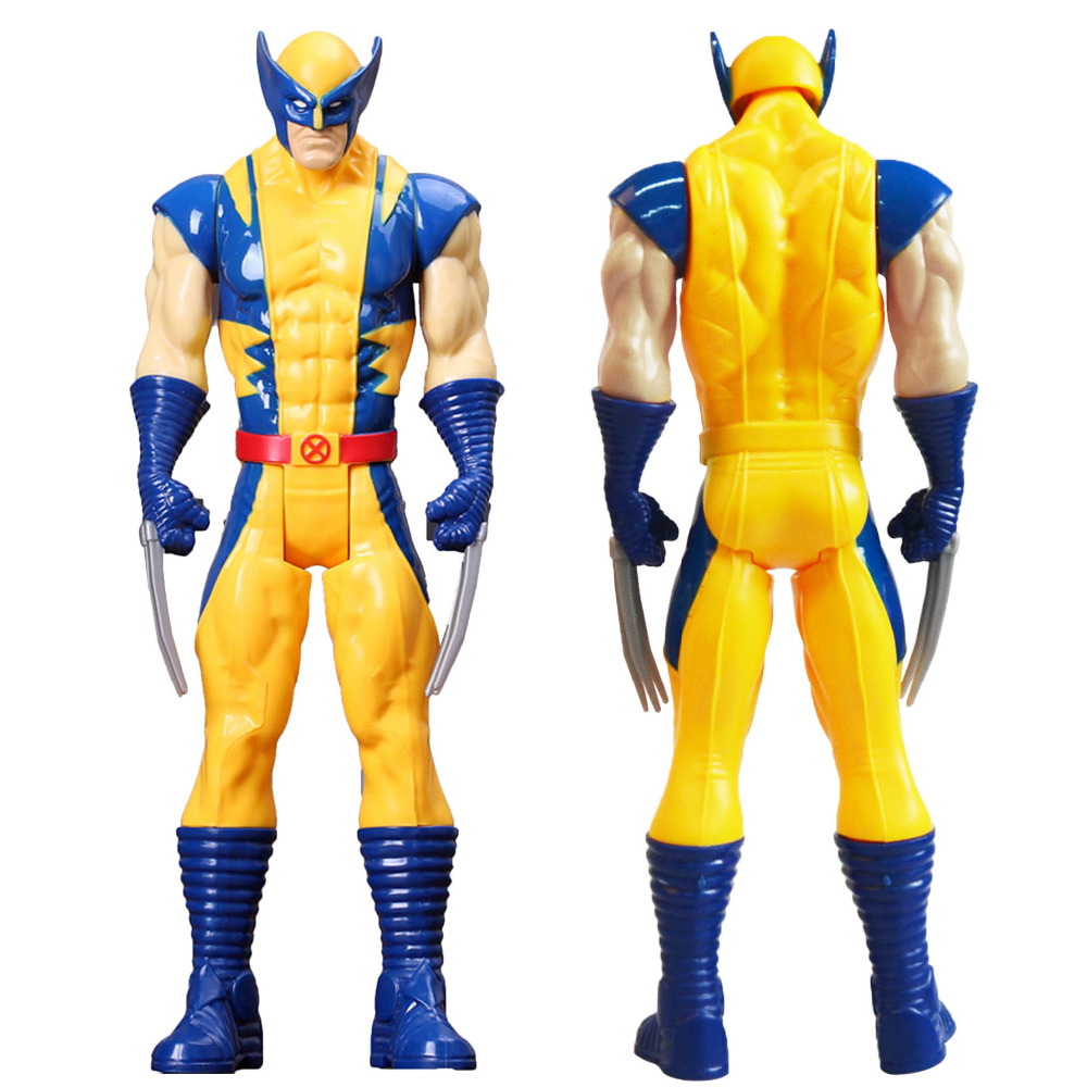 Action Toys Super Hero X-man Wolverine PVC Collection Action Figure Toys Kids Birthday Gift 30cm 26cm crazy toys 16th super hero wolverine pvc action figure collectible model toy christmas gift halloween gift