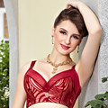 Together of new fund of 2015 autumn winters model body beauty gather bra Lace underwear Free home delivery