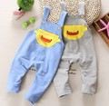 0-2Y new 2016 spring baby boy baby girl knitting cartoon overall baby boy overall pant girls jeans baby romper children clothing