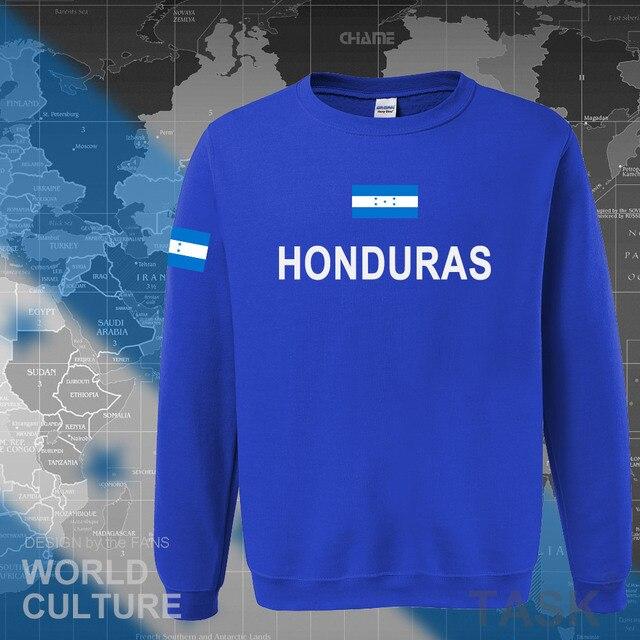 Honduras hoodies men sweatshirt sweat new hip hop streetwear tracksuit nation clothing sporting country HND Honduran Catracho 2