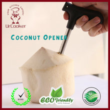 1 Pcs Coconut Opener High-quality Stainless Steel Coconut Opener Fruit Knife Tool(China)
