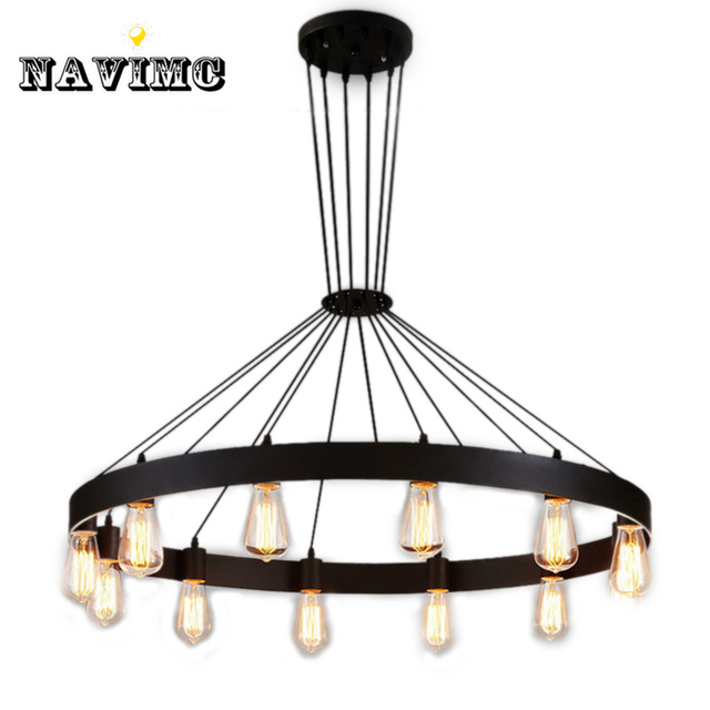 Industrial american loft vintage warehouse black iron pendant lights industrial american loft vintage warehouse black iron pendant lights lamp for dining room restaurant decoration black aloadofball Image collections
