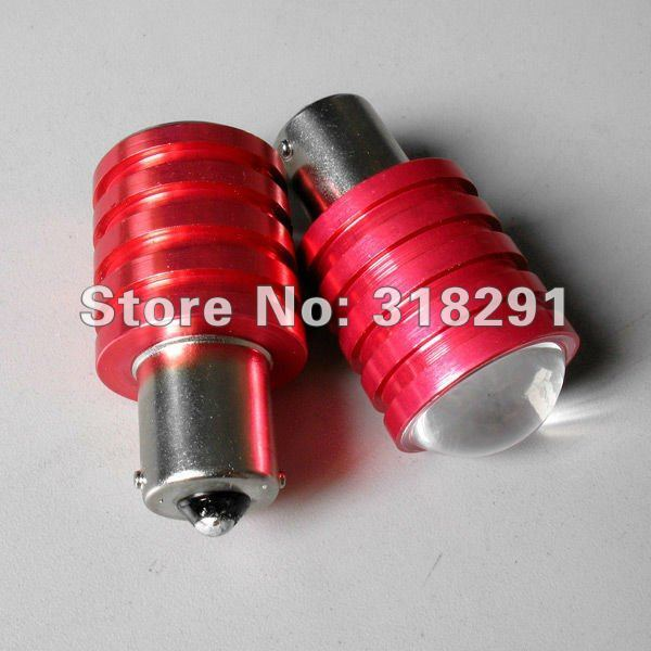 10pcs/lot 1156/Ba15s  T20 1157 CREE High power Led Car Reverse Light High quality low price Free shipping1