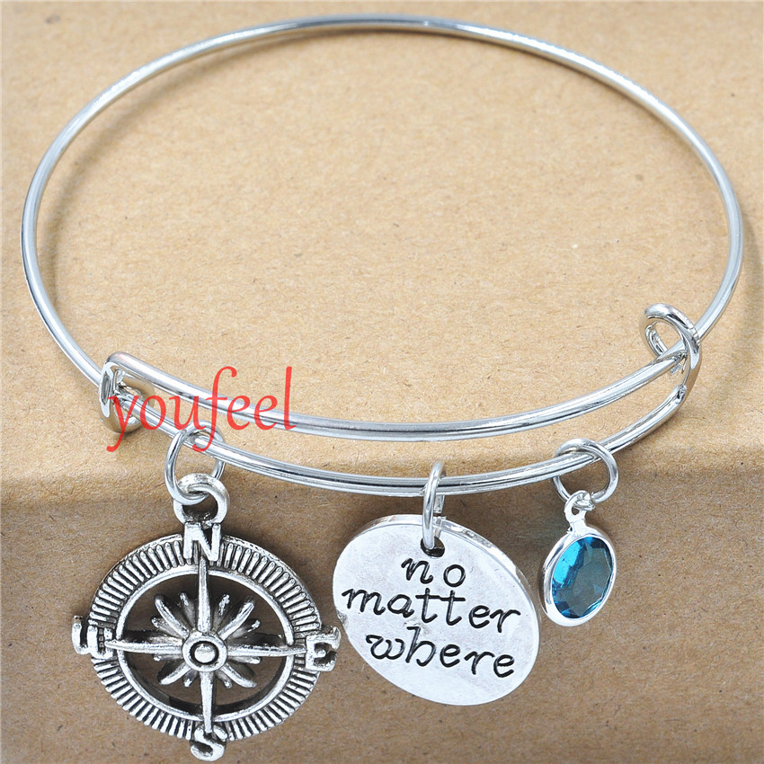 gift jewellery compass unisex bracelet charming friendship him macrame tattoo product for travel macram despicably