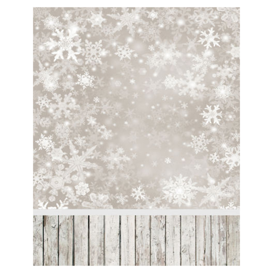 3x5ft Vinyl Photography Background Snowflake Baby Theme Backdrop  Studio Props