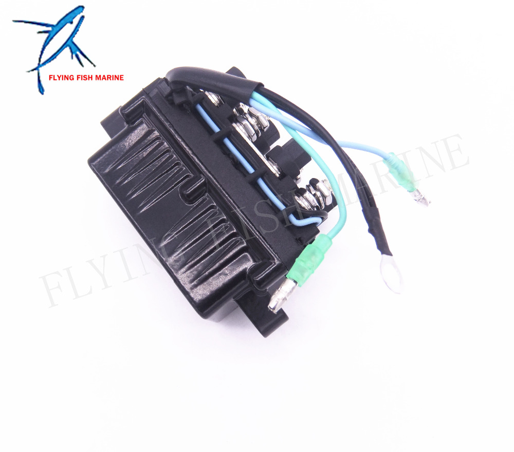 Outboard Engine Power Trim and Tilt Relay Assy 6H1-81950-00-00 6H1-81950-01-00 for Yamaha 30 - 90hp , Free Shipping she3515wt 00