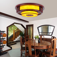 Chinese led plafondlamp slaapkamer verlichting massief hout antieke woonkamer thee huis eetkamer studie plafondlampen ZA8910|bedroom light|ceiling lamp bedroomled ceiling lamp -