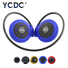 YCDC Mini Wireless Play Bluetooth / TF Run Away Sports Headset Cycling Stereo Headphone Folded Music Play for HUAWEI IPHONE