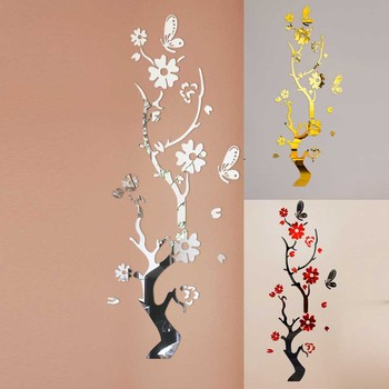 3D Diy Vine Wall stickers home decor large paper flowers living room bedroom wall decor sticker on the wallpaper  Home Decals B1 1
