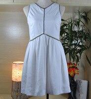 amazing women autumn dress,silk fabric white dress,decorate with pearls waist,plus size 5xl 6xl elegant vestidos office dress