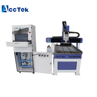 6090 3d ATC wood cnc router with 2.2kw water cooled auto tool changer factory price Mach3 control system for sale
