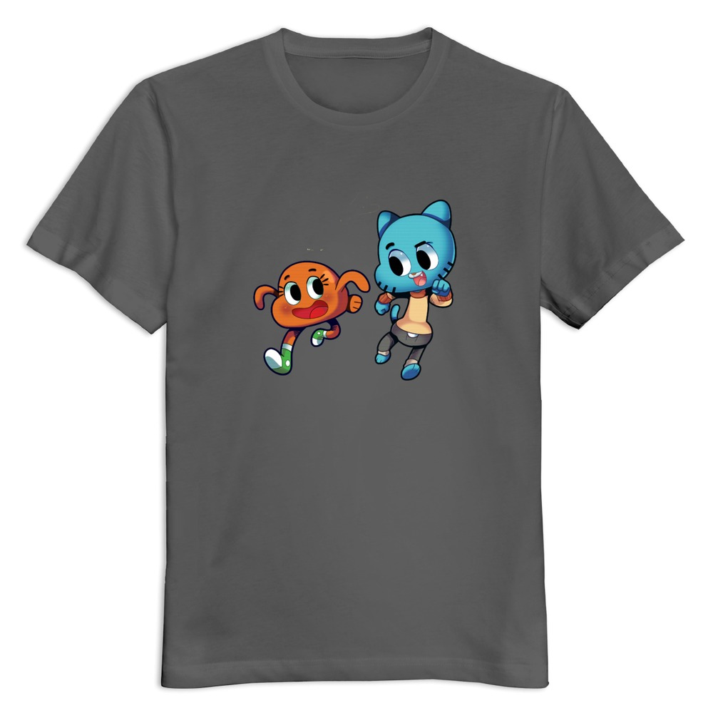 Fashion The Amazing World Of Gumball Man T Shirt Design Own O Neck T