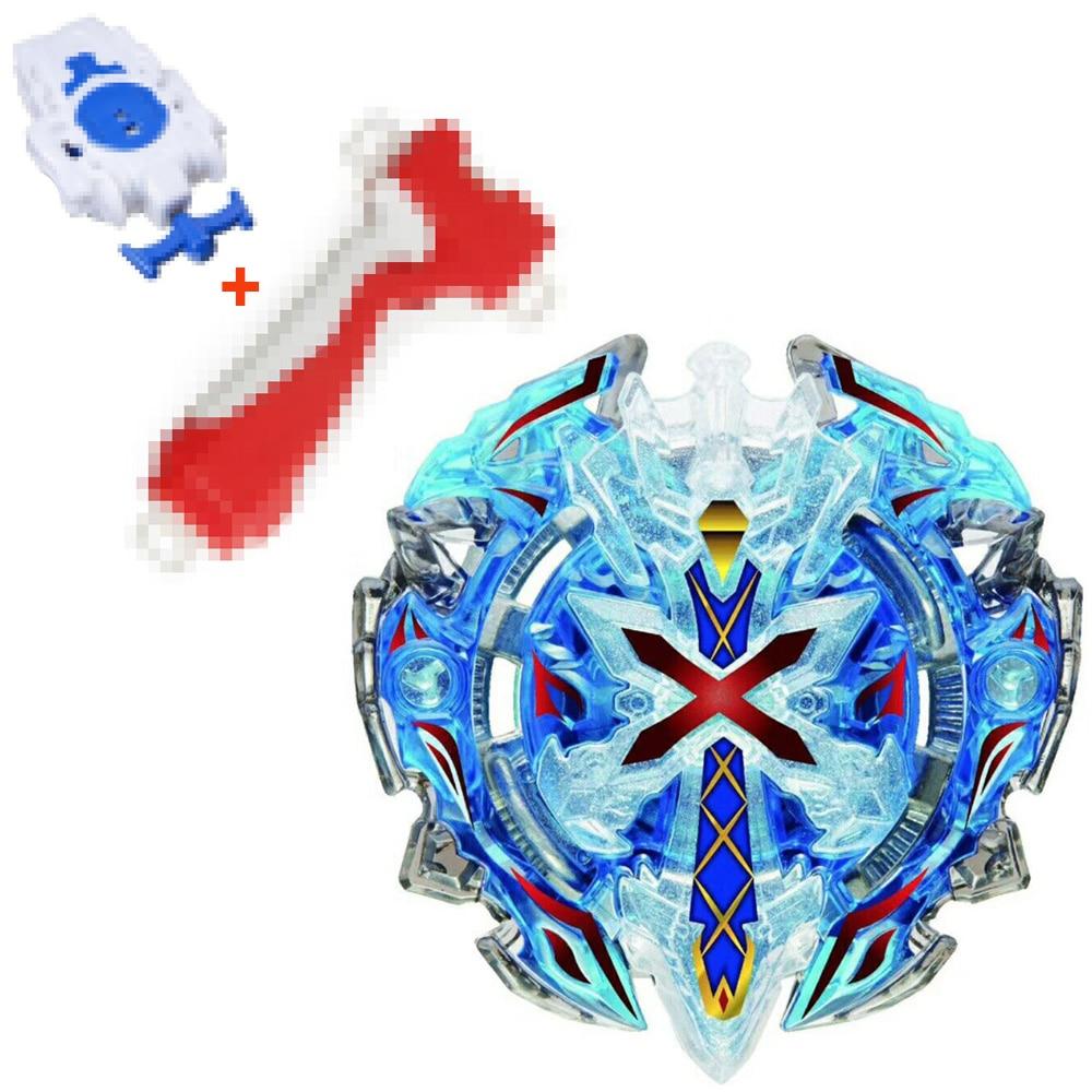B-67 BLUE Xeno Xcalibur / Xcalius / Excalibur DOWN ORBIT Burst + Advanced burst Grip + Spinning Top burst String Launcher(China)