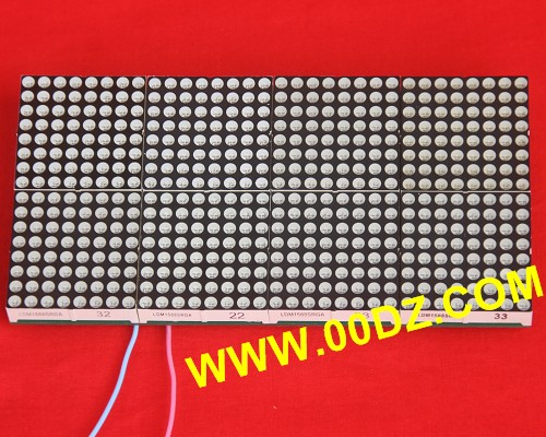 Two-color dot matrix 16X32 kit 16*32 lattice electron production module parts send details