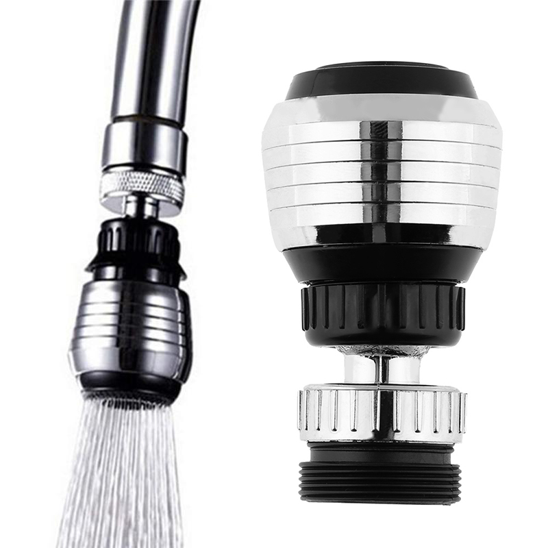 360 Degree Rotate Faucet Nozzle Faucet Kitchen Sprayer Head Water Saving Taps For Kitchen Faucet
