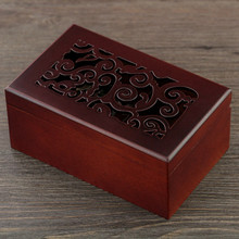 Woodiness Spring Music Box Solid Wood The Music Box Jewelry Box Heaven Of Originality Gift Hollow Out