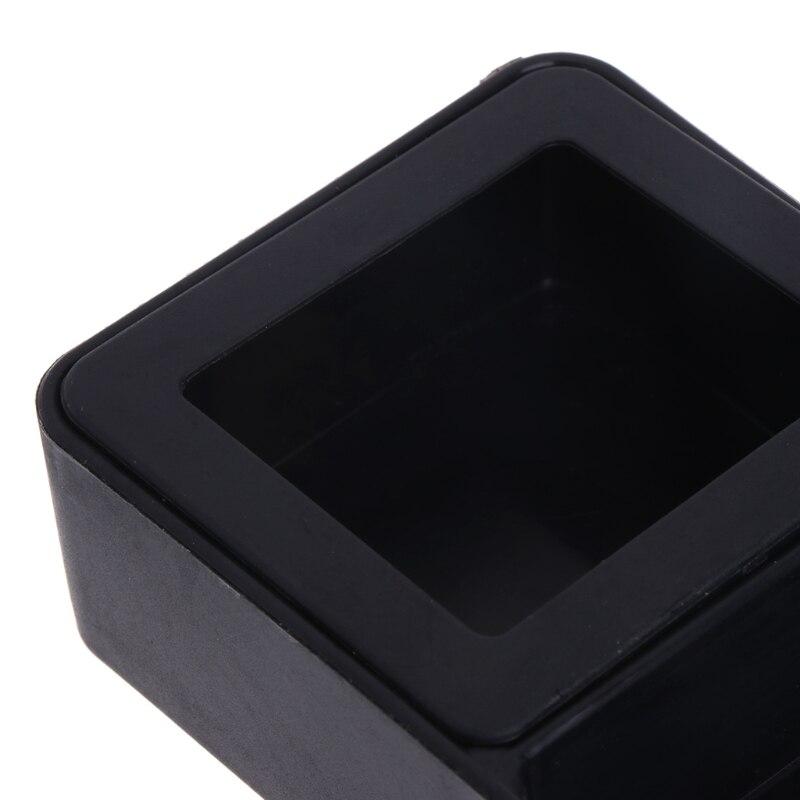 Кормушка для рептилий двойная коробка подача воды пищи паук бассейна насекомых черепаха разведение