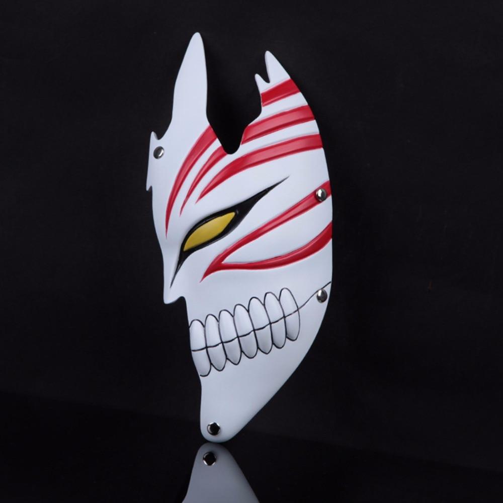 Half Face Halloween PVC God of Death Bleach Dance Ghost Mask ...