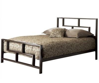 Estilo caliente cama de hierro Continental 1.2 m 1.5 m 1.8 m cama de ...