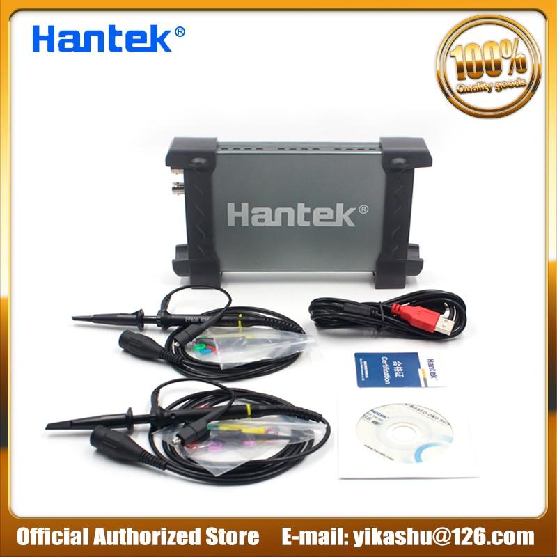 H036 Hantek Official 6022BE Laptop PC USB Digital Storage Virtual  Oscilloscope 2 Channels 20Mhz Handheld Portable Osciloscopio