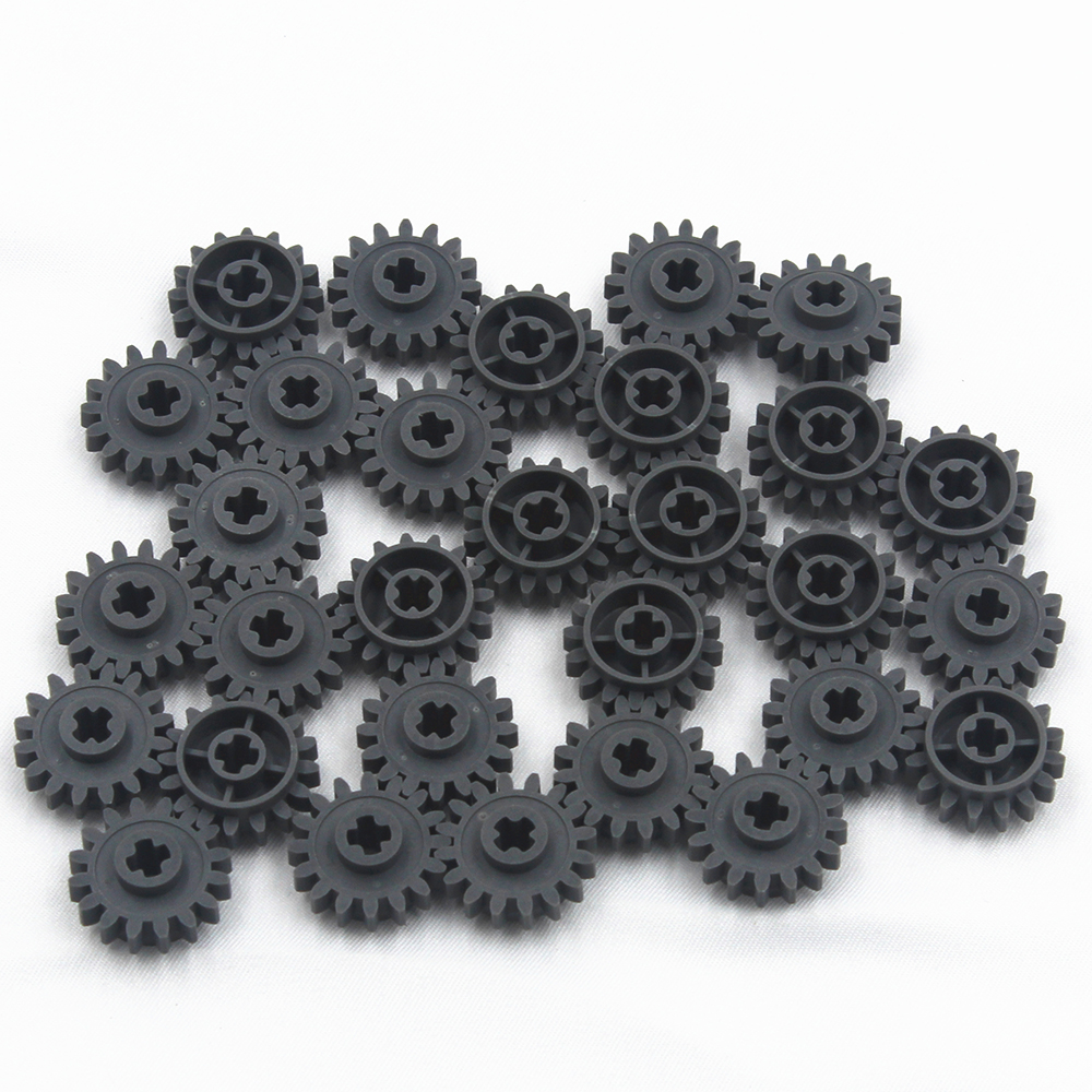 Self-Locking Bricks Free Creation Of Toy Technic GEAR WHEEL Z16 CROSS AXLES 30Pcs Compatible With Lego 6100930