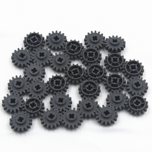 Self-Locking Bricks free creation of toy Technic GEAR WHEEL Z16 CROSS AXLES 30Pcs compatible with Lego 6100930