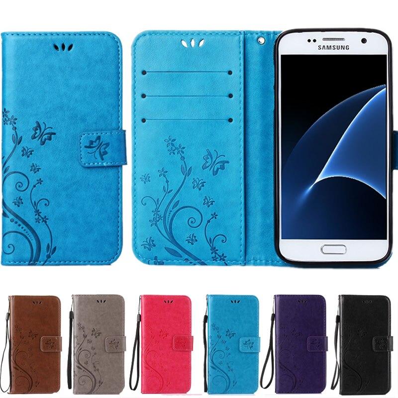 Galleria fotografica A3 A5 J3 J5 J7 2016 Core 2 Grand Prime Cover Coque Luxury Leather Flip Wallet Case For Samsung Galaxy S6 S7 edge S3 S4 S5 mini