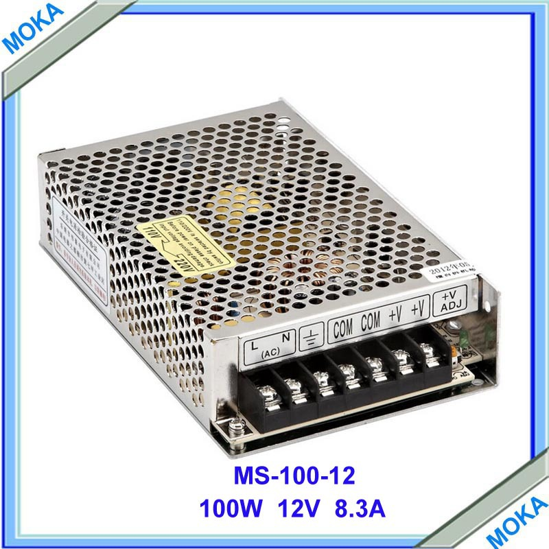 Free Shipping Factory Supply ac/dc for led transformer 220v 12v Regulated Switching Power Supply 12v DC 8.5A 240W meanwell 12v 350w ul certificated nes series switching power supply 85 264v ac to 12v dc
