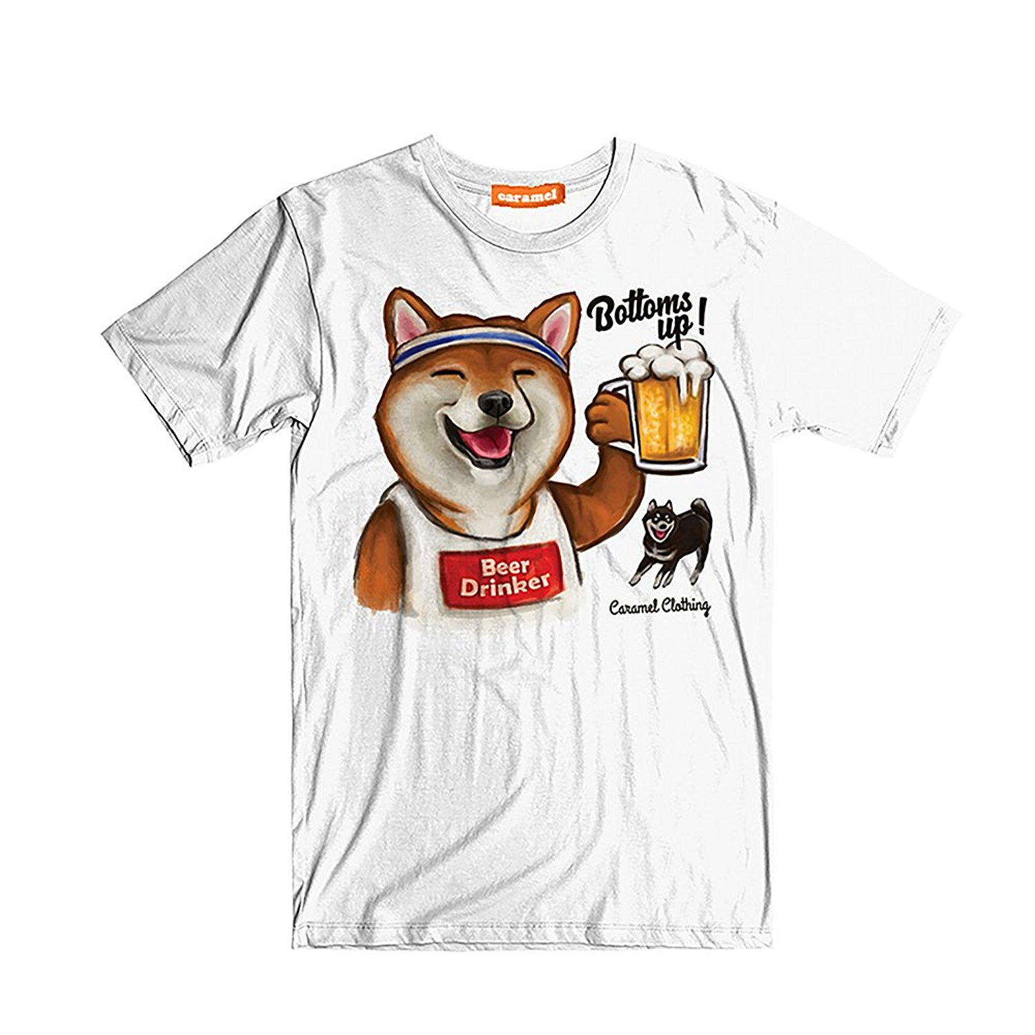 T-shirts Tops & Tees 2018 New Summer Slim Tee Shirt Corgi Unisex Short Sleeves Crew Neck Comfy T Shirt