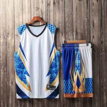 F038 Basketball Jersey Training Suit Adult Children Sportswear Team Customized 2019