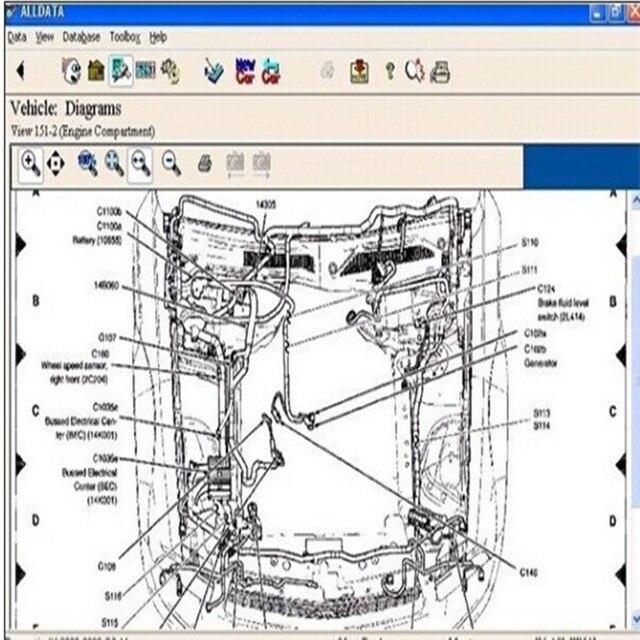 Alldata software auto reparatur software alldata V10.53 auto ...