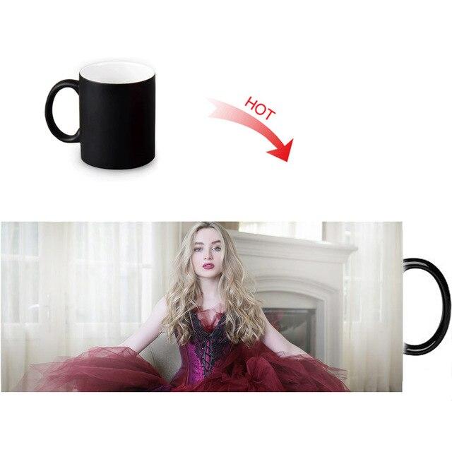 sabrina carpenter printed color changing mugs home porcelain tea