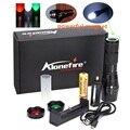 Alonefire G700-M 3800LM CREE XM-L T6 Масштабируемые СВЕТОДИОДНЫЙ Фонарик световой сигнал Аварийного Охота Рыбы Железнодорожного Сигнала + 18650 + USB зарядное устройство
