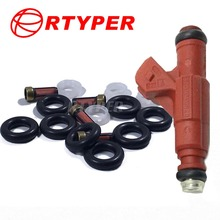 4 Sets Fuel Injector 0280156028 Repair Kits 02202 For Ford Explorer Mercury Mountaineer