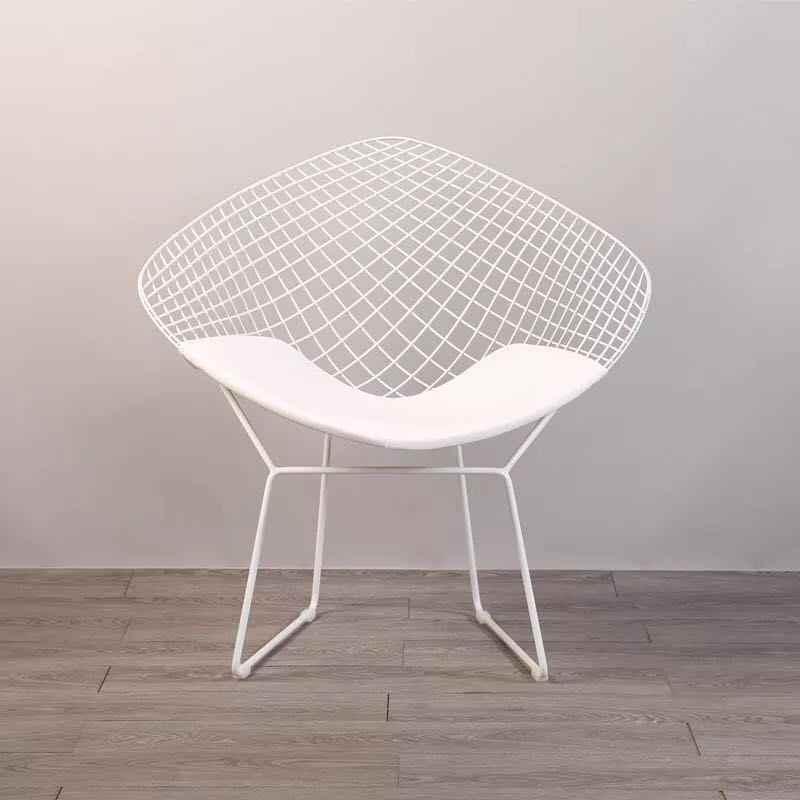Amazing Free Shipping U Best Harry Bertoia Diamond Wire Lounge Chairmodern Leisure Metal Dining Replica Mesh Wire Bertoia Diamond Chair Alphanode Cool Chair Designs And Ideas Alphanodeonline