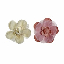 10pcs/lot 2Colors Small Simulation Chiffon Flower Infant Hair Accessories For Headband Kidocheese
