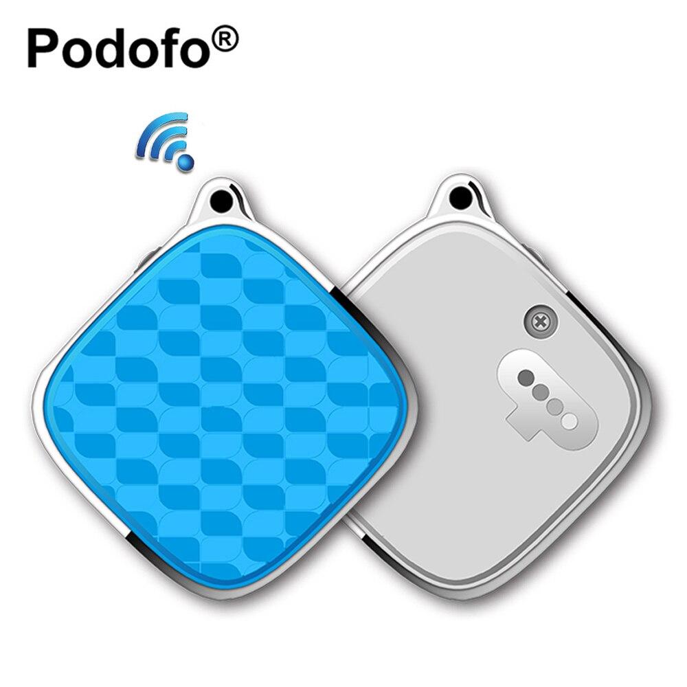 Podofo мини автомобиль GSM GPRS трекер SOS персональный GPS трекер в реальном времени локатор для летних детей Домашние животные Открытый Путешествие