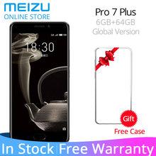 "Meizu Pro 7 Plus 6GB 64GB 4G LTE MTK Helio X30 Deca Core 5.7"" 2K Screen Dual Rear 12.0M Fast Charge Cell Phone Dual Screen"