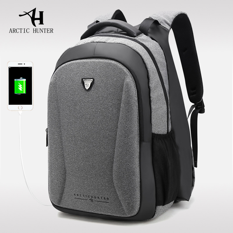 2018 Men Laptop Bag Design Mobile Power Hand Warm Backpack Women Laptop Backpack Mens Fashion Casual USB Backpack Anti Theft