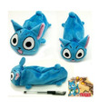 Anime Fairy Tail Happy Plush Soft Pen Bag Pencil Case Toy Plush Gift Kids Baby