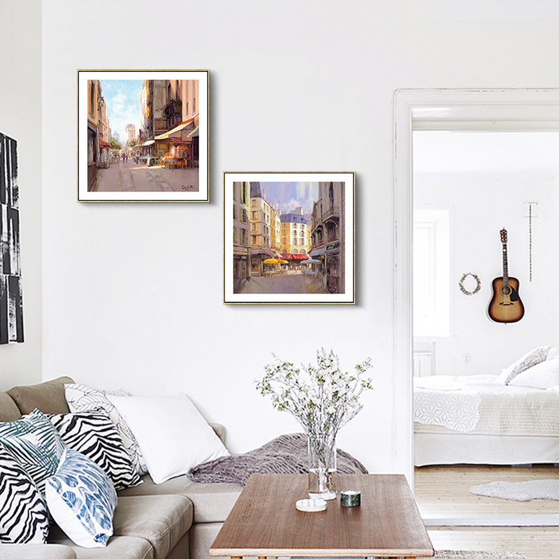 Sun Is Shining Paris Building Beauty Canvas Art Print Painting Poster, Wall  Pictures For Home Decoration, Home Decor Poster In Painting U0026 Calligraphy  From ...