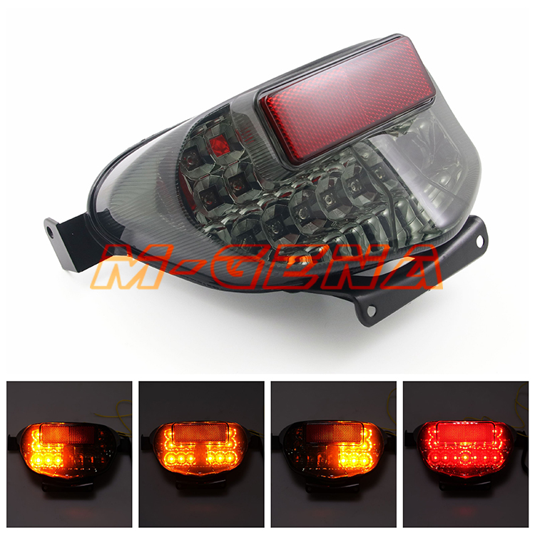 Motorcycle LED Rear Turn Signal Tail Stop Light Lamp Integrated For GSXR GSXR600 GSXR750 00 01 02 03 GSXR1000 K1 00 01Motorcycle LED Rear Turn Signal Tail Stop Light Lamp Integrated For GSXR GSXR600 GSXR750 00 01 02 03 GSXR1000 K1 00 01